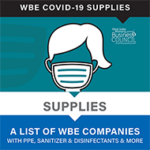 List of WBE Companies with COVID-19 supplies