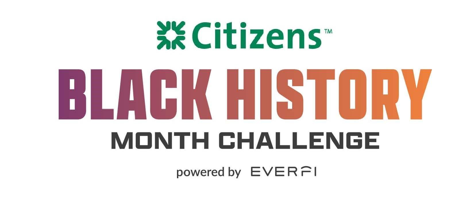 Citizens Black History Month Challenge