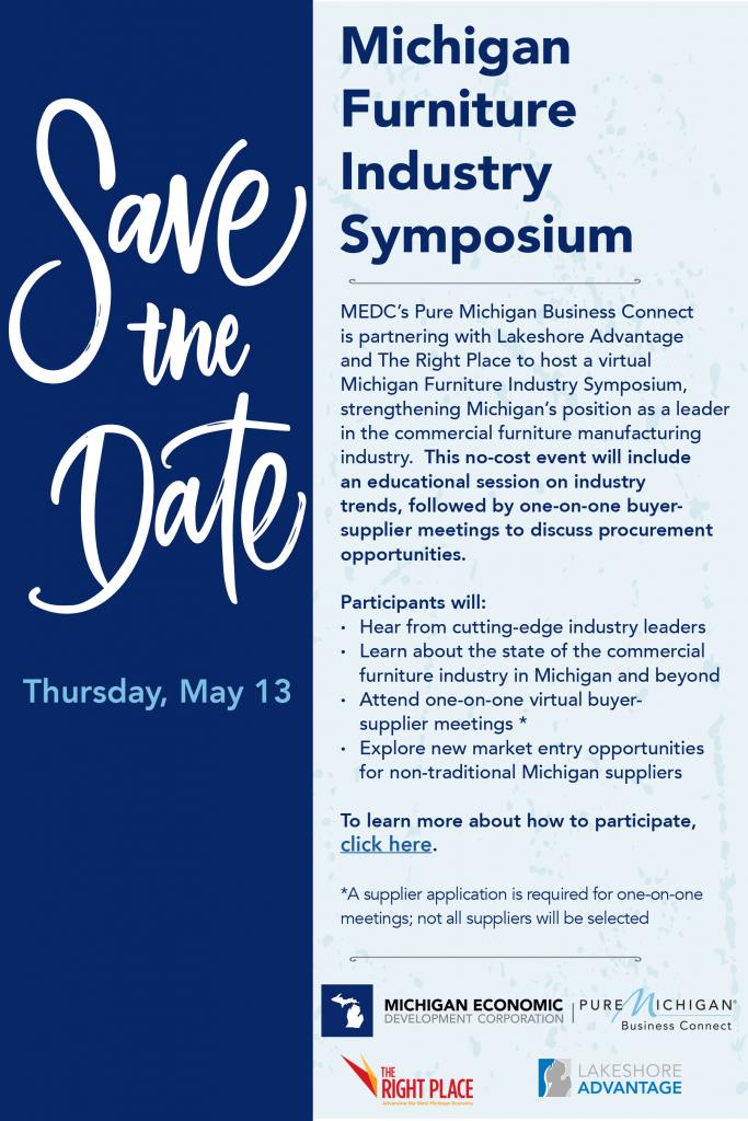 Michigan Furniture Symposium Flyer