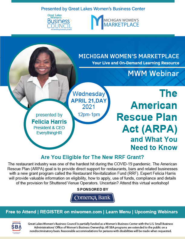 MWM The American Rescue Plan Act Webinar