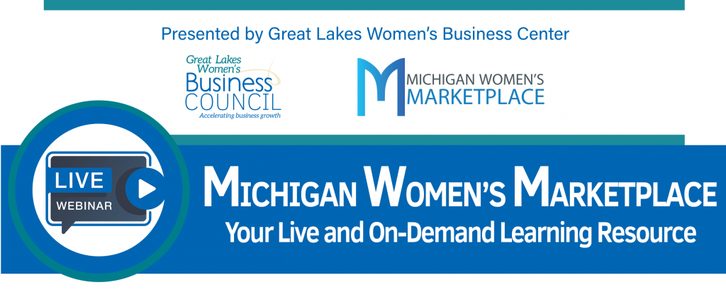 Michigan Women's Marketplace Banner