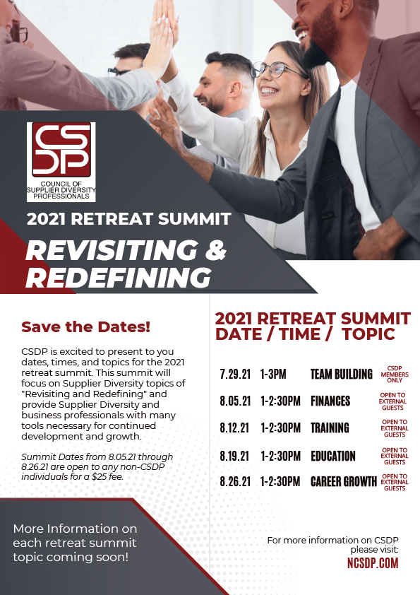 Retreat Summit Save The Date 2021