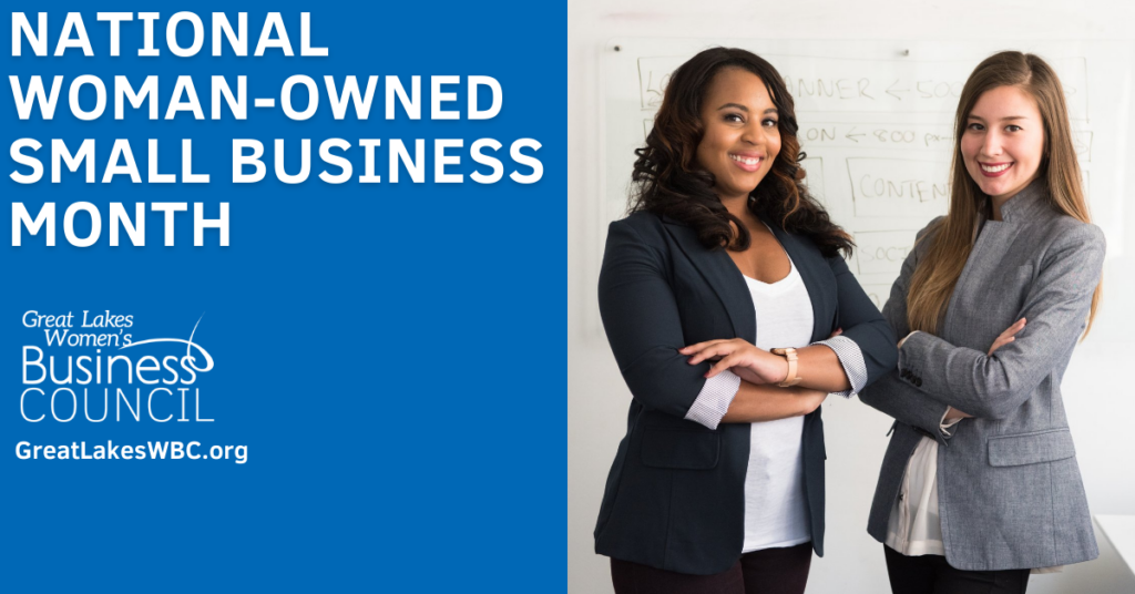 Cover for National Women-Owned Small Business Month