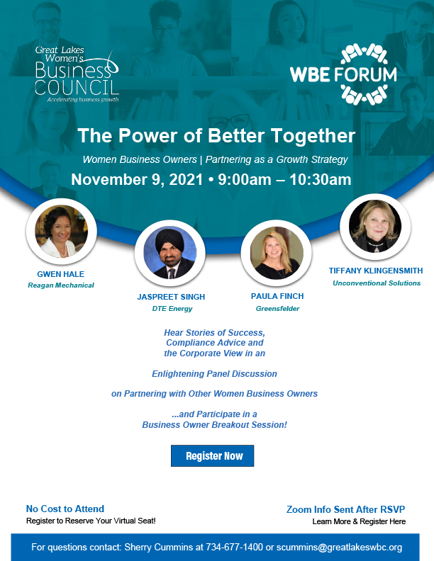 WBE Forum - The Power of Better Together